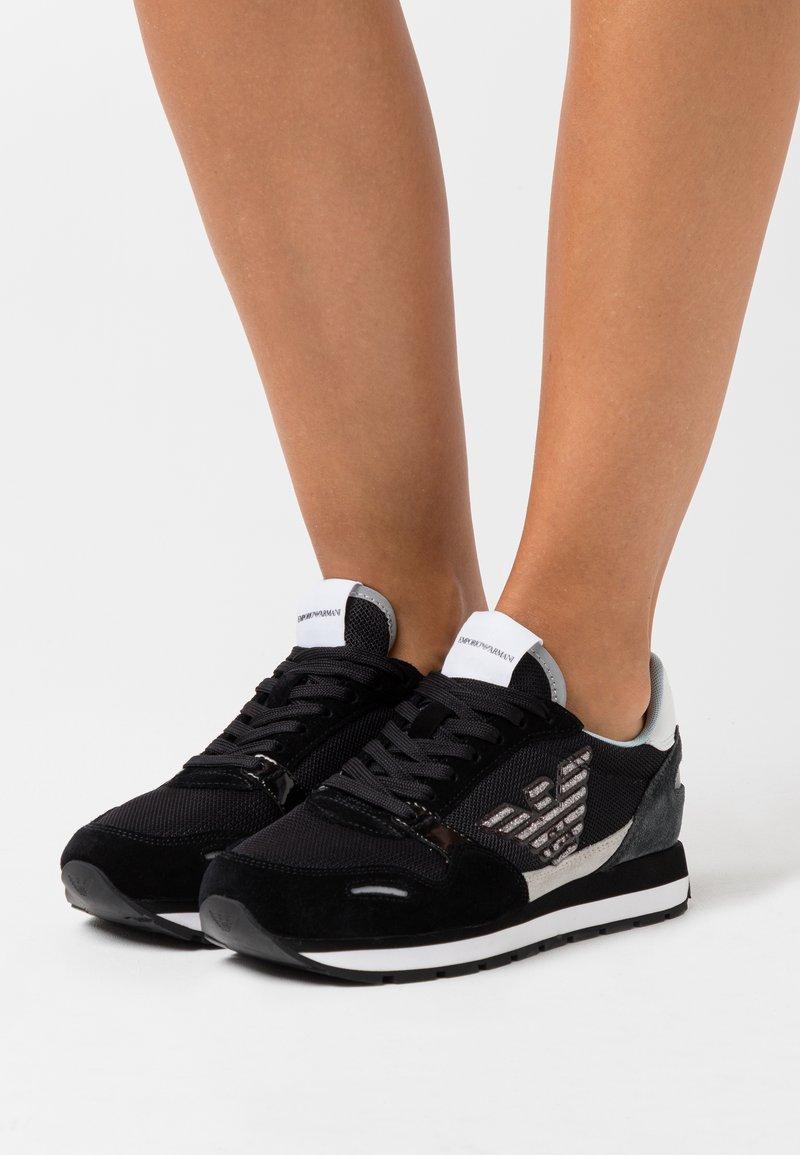 Emporio Armani - Zapatillas - black/grey