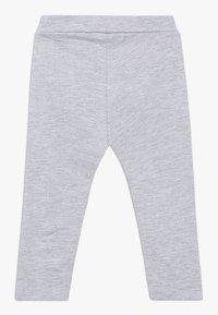 OVS - BABY PANT WITH PRINT 2 PACK - Leggings - ebony/grey melange - 1