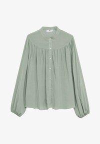 Mango - MINT - Button-down blouse - vert pastel - 4