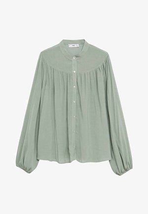MINT - Button-down blouse - vert pastel