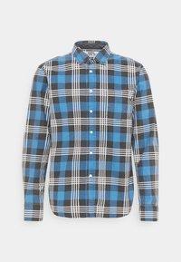 Shirt - light blue/black