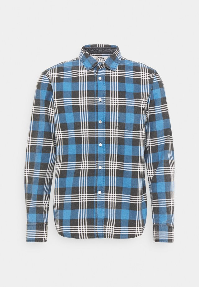 Overhemd - light blue/black