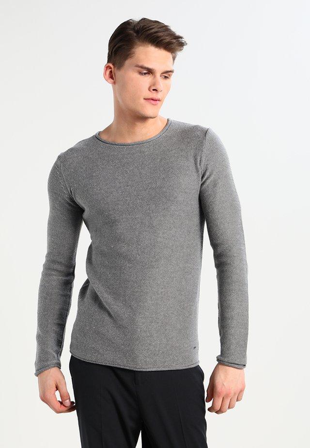 JARAH - Jumper - grey melange