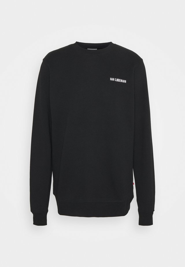 CASUAL CREW - Sweater - black