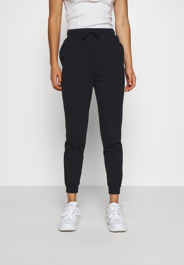 BASIC - Slim Fit Joggers - Trainingsbroek - black
