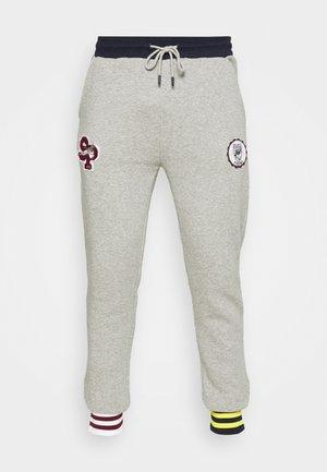 UNISEX TEAMWORK - Teplákové kalhoty - heather grey