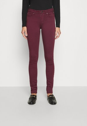 NEW LUZ - Jeans Skinny Fit - aubergine