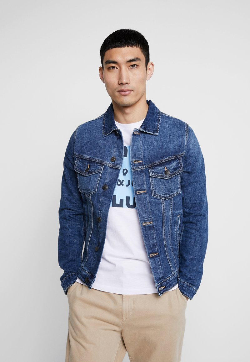 Jack & Jones - JJIALVIN JJJACKET - Denim jacket - blue denim