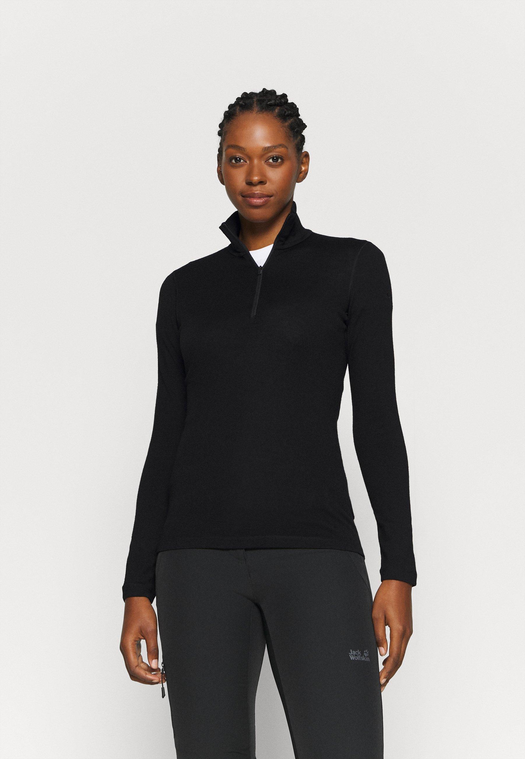 Damen TECH HALF ZIP - Langarmshirt