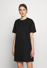 Filippa K - MADDIE DRESS - Žerzejové šaty - black - 0
