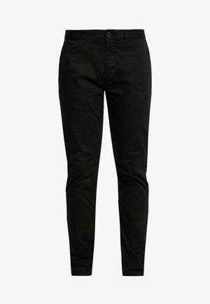 MOTT CLASSIC SLIM FIT - Chinos - black