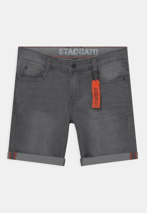 Denim shorts - grey denim