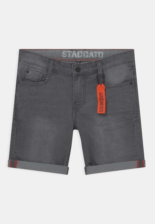 Jeansshort - grey denim