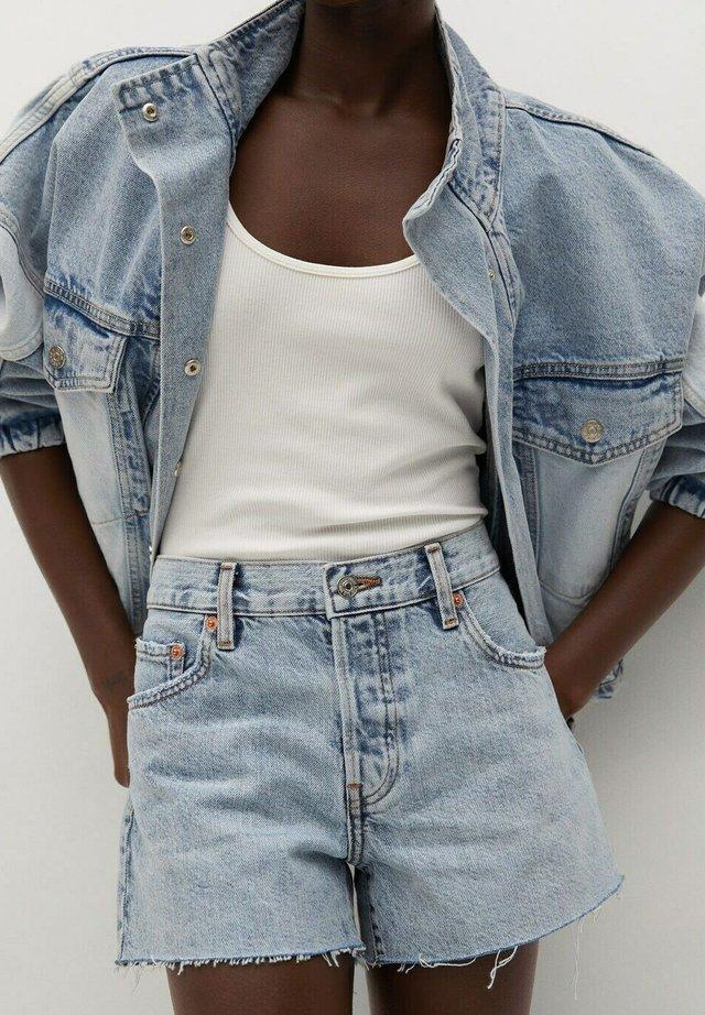 Shorts di jeans - lichtblauw