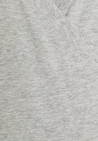GAP Maternity - NURSING CROSSOVER - Bluzka z długim rękawem - heather grey - 2