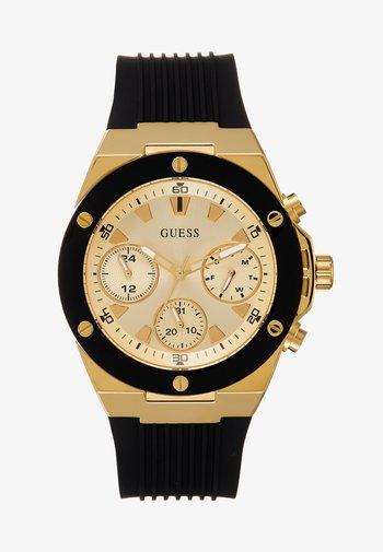 LADIES SPORT - Watch - black/gold-coloured