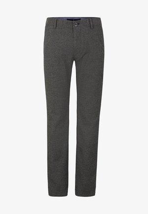 Trousers - schwarz/navy/braun