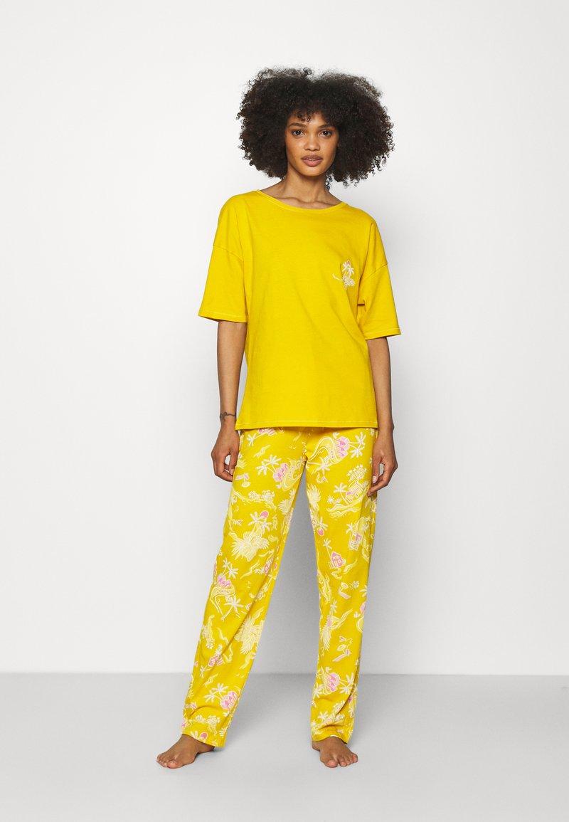 Marks & Spencer London - TROPICAL  - Pyjamas - yellow mix