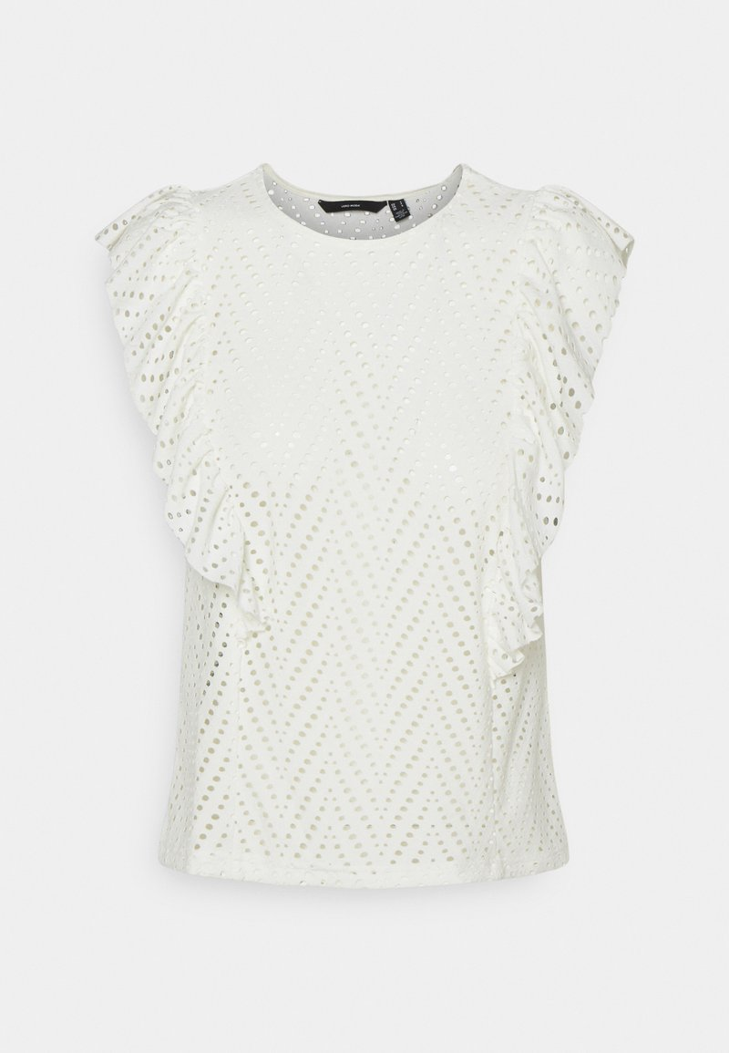 Vero Moda - VMLEAH - Print T-shirt - birch