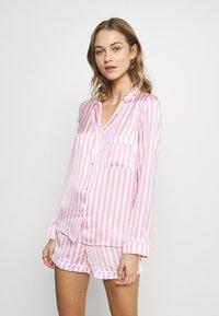 Missguided - STRIPE SET - Pyjamaser - pink - 0