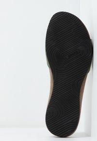 Scholl - BAHAMAIS - Tøfler - kaki - 6