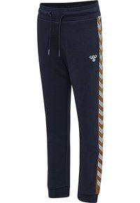 Hummel - Teplákové kalhoty - black iris - 2