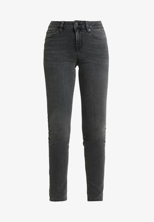 SLFIDA SMOKE - Jeans Skinny Fit - black denim