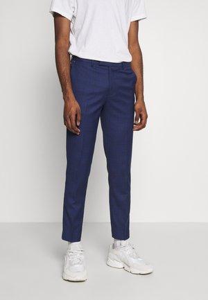 CABOT - Jakkesæt bukser - blue