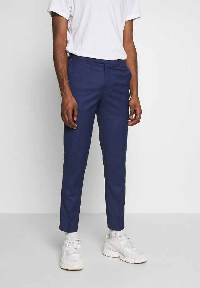 CABOT - Suit trousers - blue