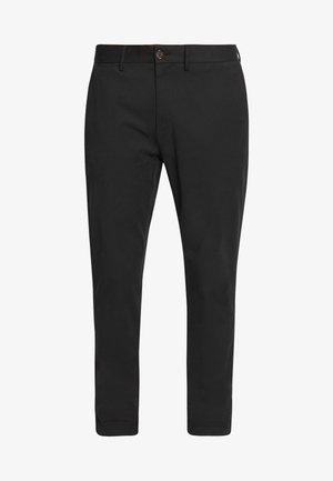 SIGNATURE SLIM  - Chino kalhoty - black
