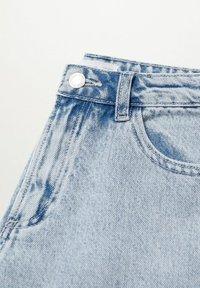 Mango - LAUREN - Jeans Shorts - lichtblauw - 2