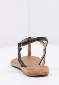 Les Tropéziennes par M Belarbi - BILLY - T-bar sandals - noir - 4