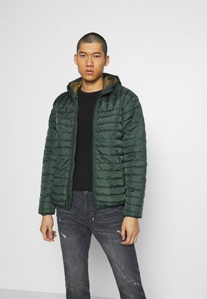 ONSPAUL QUILTED HOOD JACKET - Light jacket - scarab