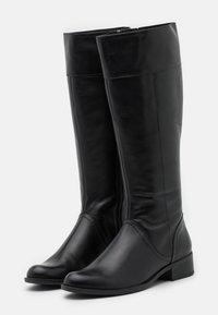 Caprice - BOOTS - Vysoká obuv - black - 2