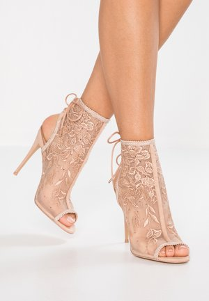 KERISEN - High heeled sandals - bone
