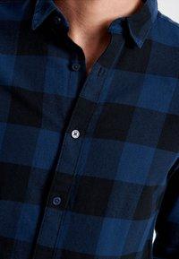 Only & Sons - ONSGUDMUND CHECKED - Skjorta - dark blue, anthracite - 3