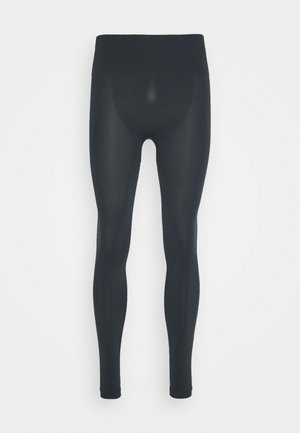 HIGH SEAMLESS LEGGING - Medias - coal