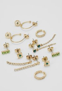 Pieces - PCEMSE EARRINGS 6 PACK SET - Kolczyki - gold colour - 4