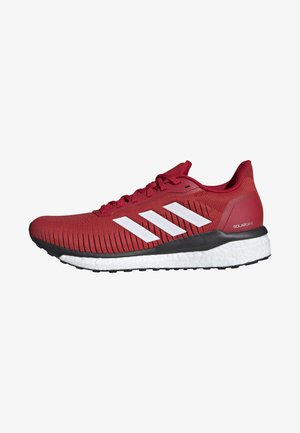 SOLAR DRIVE 19 SHOES - Stabilty running shoes - red