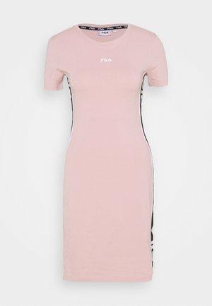 TANIEL TEE DRESS - Žerzejové šaty - pale mauve