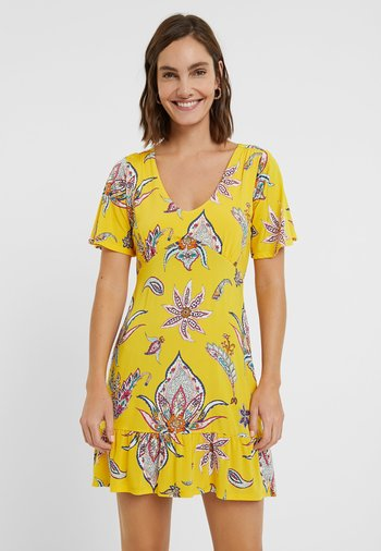 LEMARK - Day dress - yellow