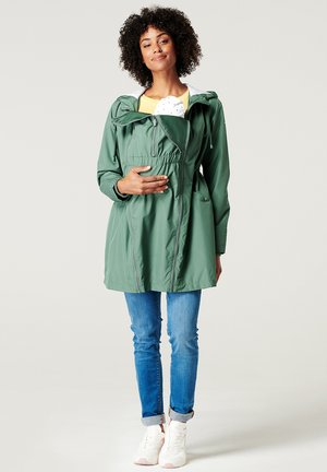 Waterproof jacket - vinyard green