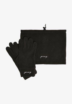 SET - Handschoenen - black