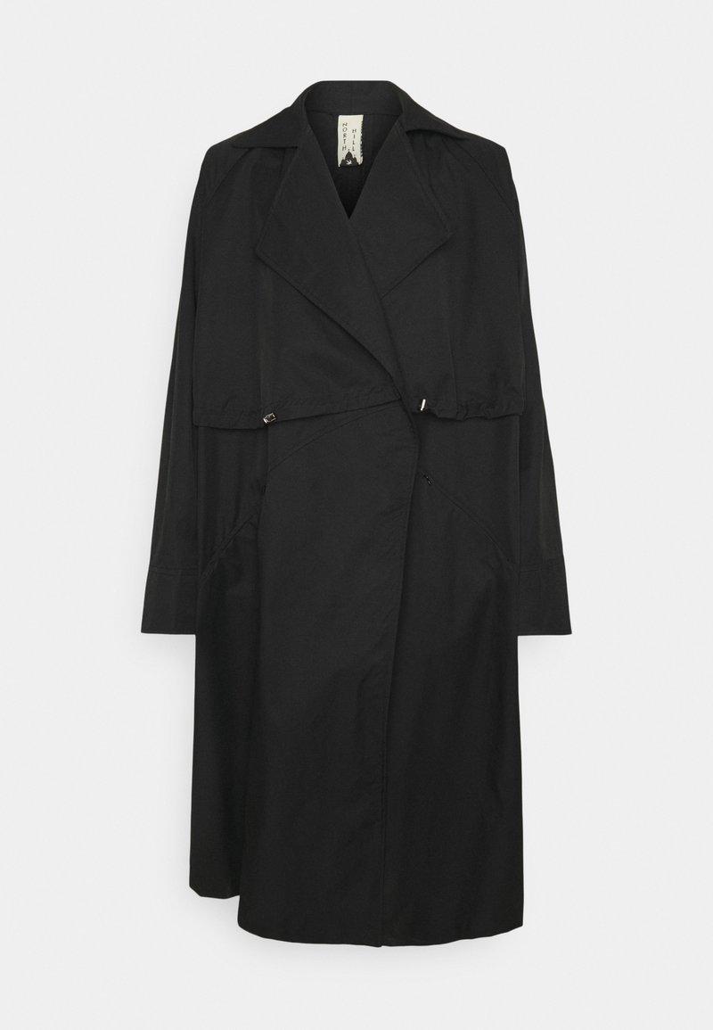 NORTH HILL PARIS - Trenchcoat - black