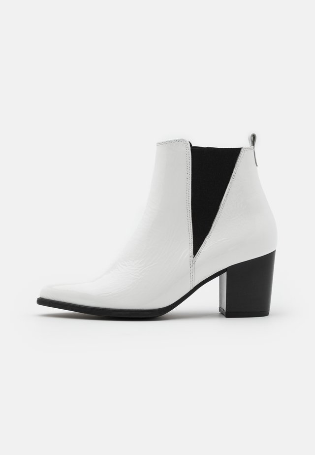Kotníková obuv - weiß