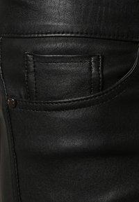 Oakwood - P ANDORA - Leather trousers - black - 5