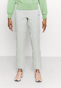 The North Face - EXPLORATION CONVERTIBLE PANT - Pantaloni outdoor - wrought iron - 0
