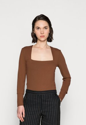 MALBA TEE - Long sleeved top - brunette