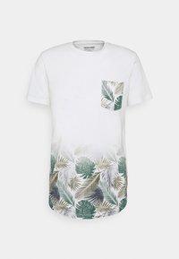 Jack & Jones - JORNEWMAIZE TEE CREW NECK - T-shirt med print - cloud dancer - 0