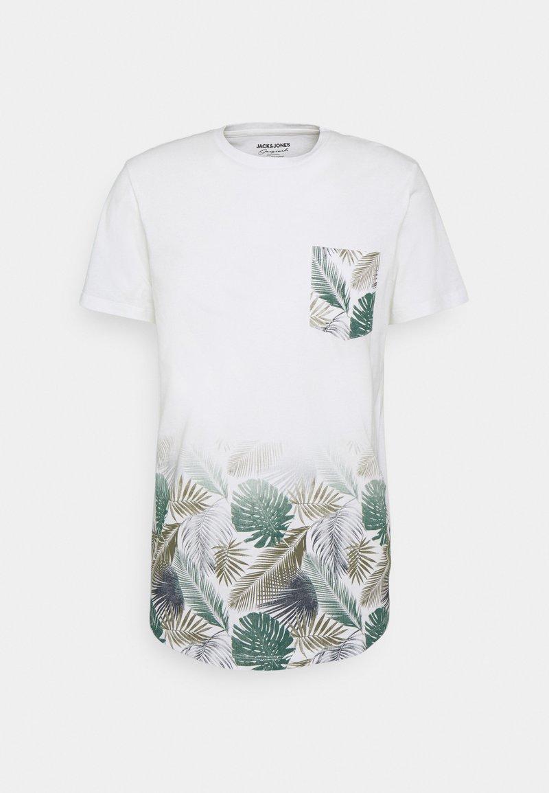 Jack & Jones - JORNEWMAIZE TEE CREW NECK - T-shirt med print - cloud dancer